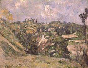Auvers-sur-Oise, seen from the Val Harme