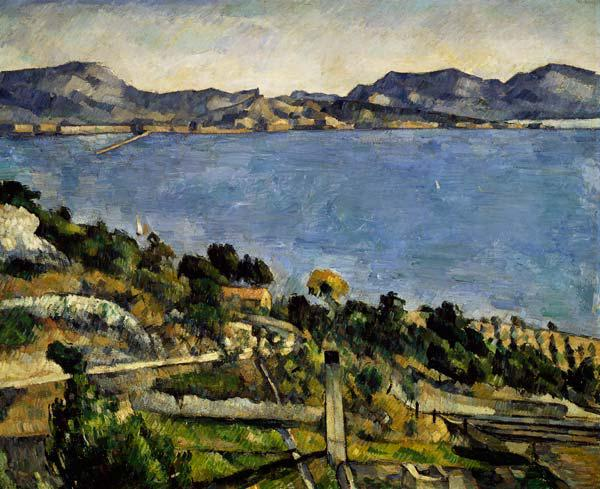 Estaque Landscape at the Gulf of Marseille