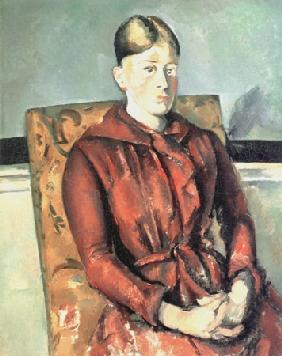 Madam Cezanne in the yellow easy-chair