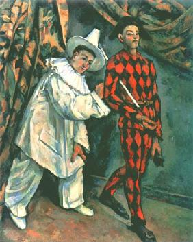 Pierrot and Harlequin