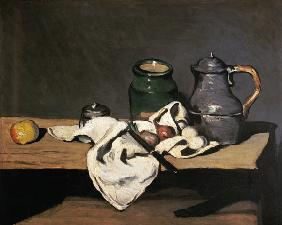 Still Life with a Kettle