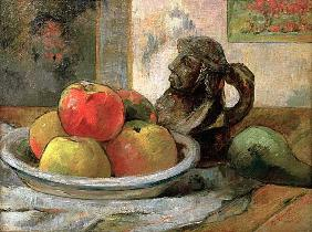 Still life with apples...