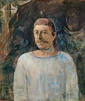 Self portrait, close to Golgotha