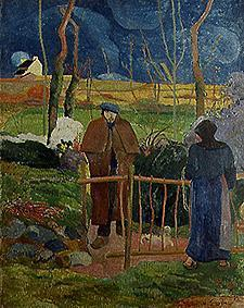 Gauguin, Paul : Voucher at-home day, Monsi...