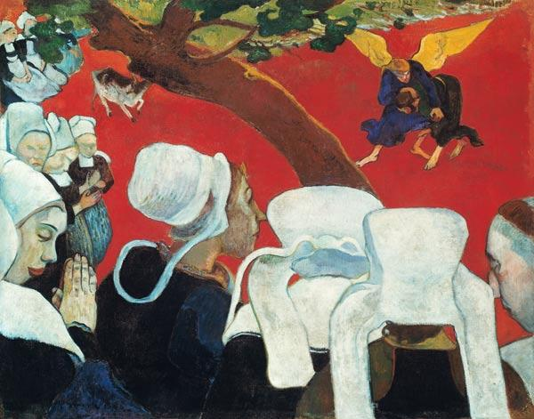 Gauguin, Paul : Vision according to the se...