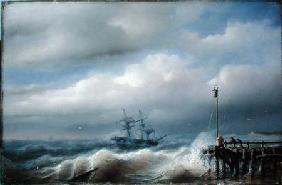 Rough Sea in Stormy Weather