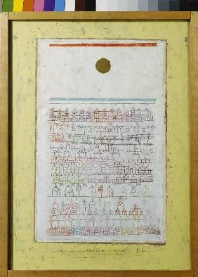 A sheet from the Städtebuch.