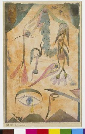 Klee, Paul : Mourning flowers