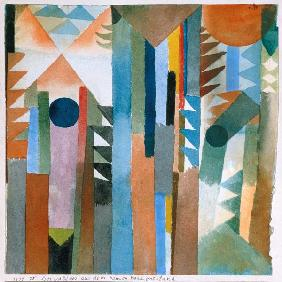 Klee, Paul : The woods which arose from...