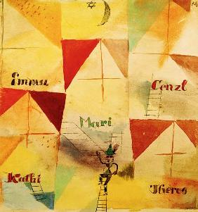 Klee, Paul : Der bayrische Don Giovanni...