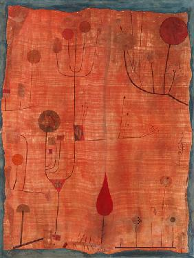 Klee, Paul : Fruits on red (or: The han...
