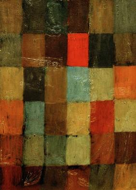 Klee, Paul : Harmonie blau=orange, 1923...