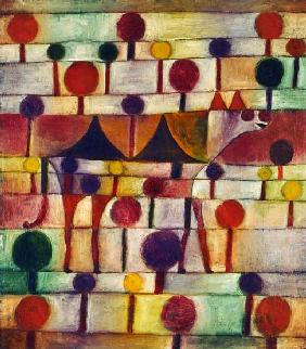 Klee, Paul : Camel in a rhythmical tree...