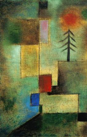 Klee, Paul : Small pine picture.