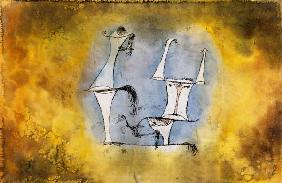 Klee, Paul : Aurochs world couple
