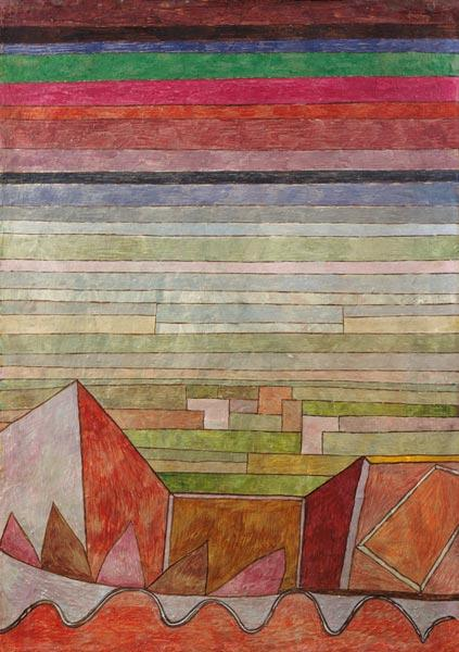 Klee, Paul : Look to the fruit country.