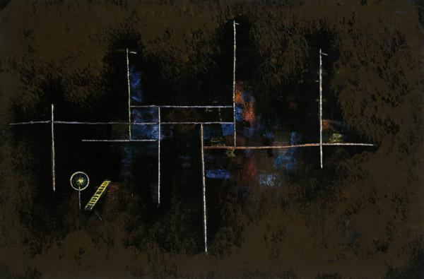 Klee, Paul : Scaffolding of a new build...