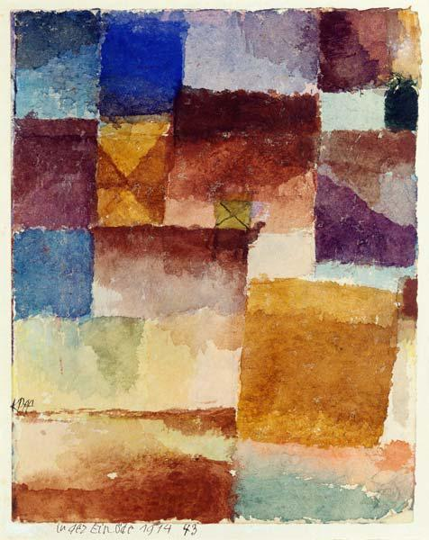 Klee, Paul : In der Einoede, 1914.43. (...