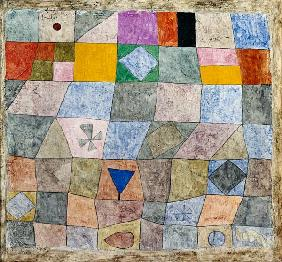 Klee, Paul : Kind game