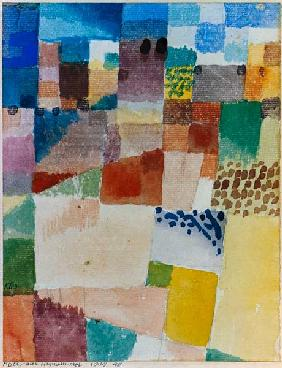 Klee, Paul : Motif from Hammamet.