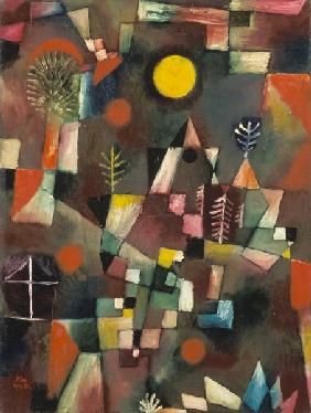 Klee, Paul : The full moon.