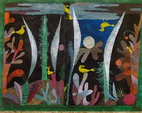 Klee, Paul : Landscape with yellow bird...