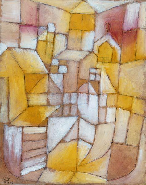Klee, Paul : Rosa yellow (window and ro...
