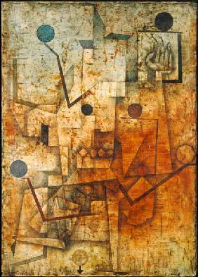 Klee, Paul : The devil juggles.