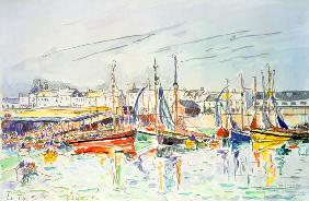 Signac, Paul : La Turballe