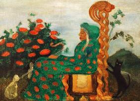 Modersohn-Becker, Paula : Fairytale Witch