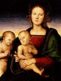 Maria with the child and the Johannesknaben