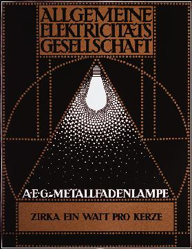 Advertising Poster for the General Electric Company [AEG]