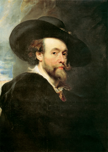 Peter Paul Rubens - selfportrait