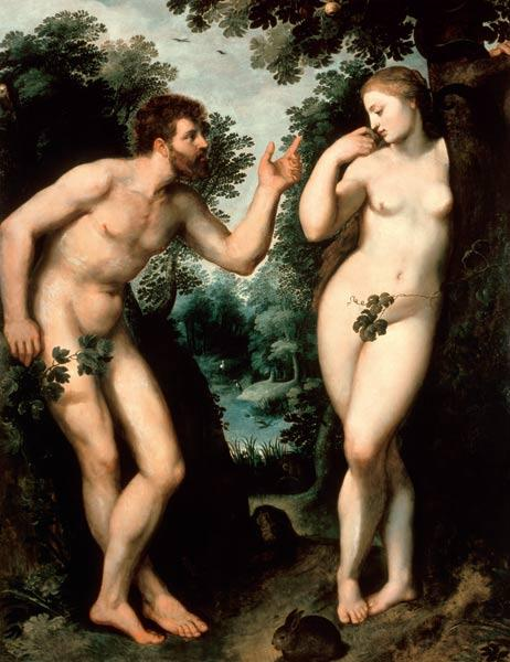 P. P. Rubens / Adam and Eve