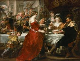 Rubens, Peter Paul : The banquet of the Herodes...