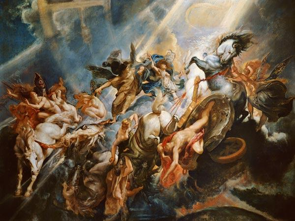 The Fall of Phaeton c.1604-08 (oil on canvas)