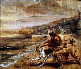 The discovery of purple, c.1636