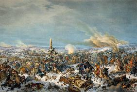 Crossing the Berezina River on 17 November 1812