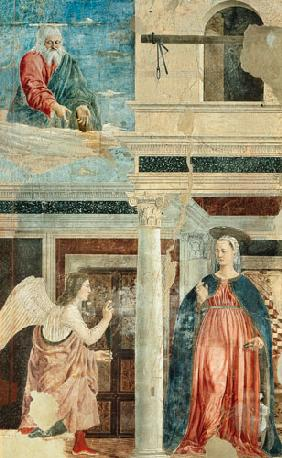 Annunciation, from the True Cross Cycle