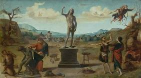 di Cosimo, Piero : Scene from the pro-mead ha...