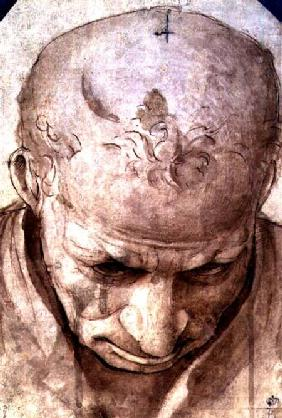 di Cosimo, Piero : Head of an Elderly Man (pe...