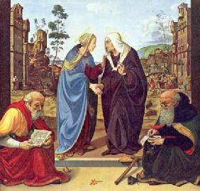 di Cosimo, Piero : Visitation with two saints