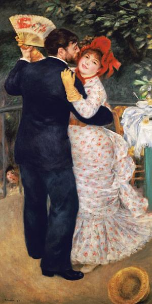 A.Renoir / Country dance / 1883