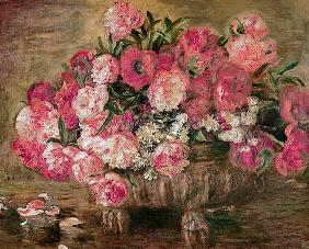 Still life with peonies 1872