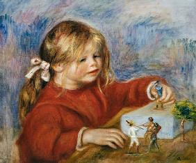 The playing Claude Renoir