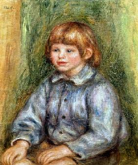 Seated Portrait of Claude Renoir (1901-81)