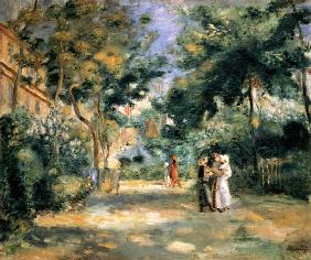 Renoir, Pierre-Auguste : The Gardens in Montmartre