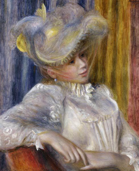 Woman with a Hat (Femme au chapeau)