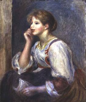 Woman with a letter