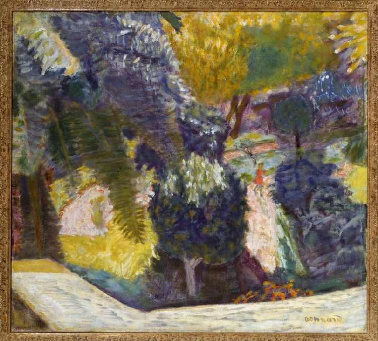 Jardin Méridional au Cannet ou le Jardin - Pierre Bonnard as ...